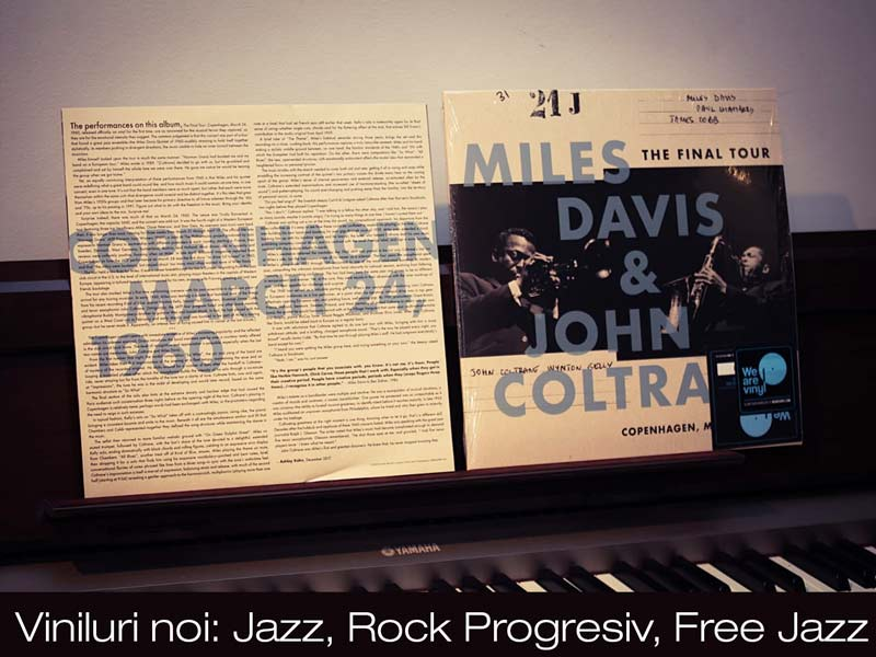 Viniluri Jazz. Miles Davis John Coltrane - The final tour